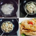 Món ăn độc đáo – Cá chiên hoa mẫu đơn